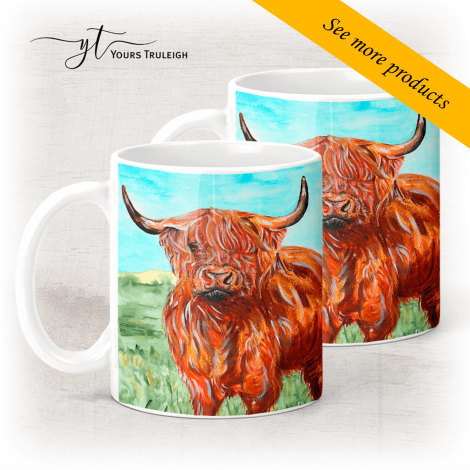 Highland Cow - Large Range of Giftware available.