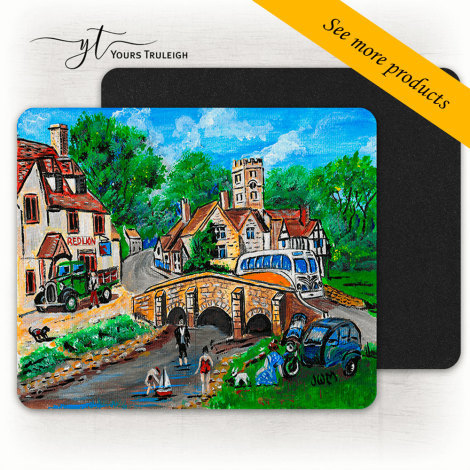 Camper on the Bridge - Large Range of Giftware available.