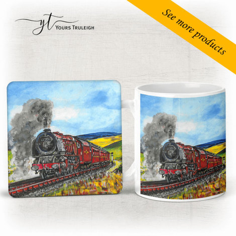 Train in the Countryside - Large Range of Giftware available.
