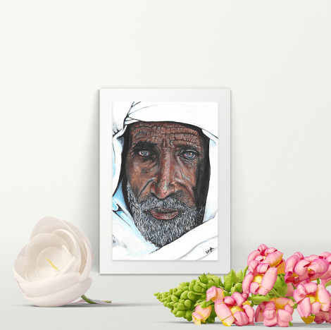 Elderly Moroccan Man