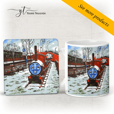 James in the Snow - Large Range of Giftware available.