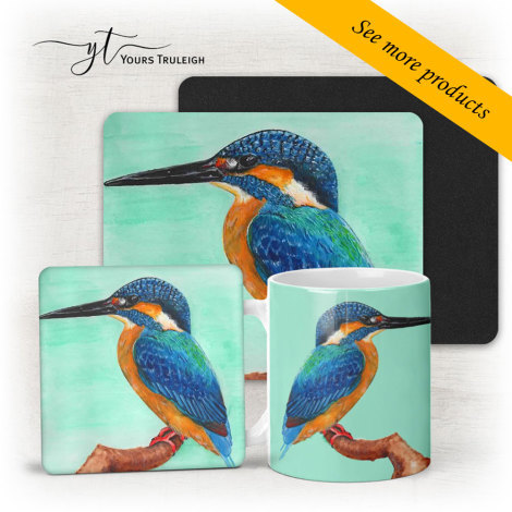Kingfisher Art - Large Range of Giftware available.
