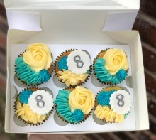 Our Classic Birthday Cupcakes