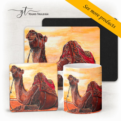 Sunset Camel Large Range of Giftware Available.