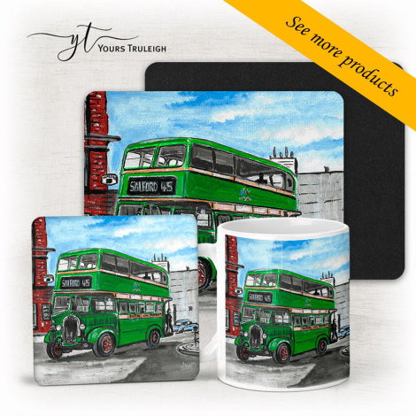 Salford Bus - Large Range of Giftware available.