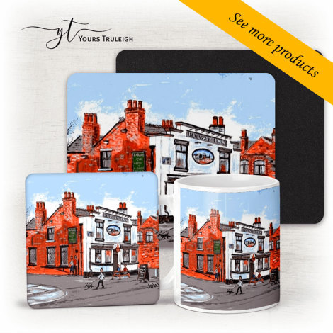 The Railway Irlam - Large Range of Giftware available.