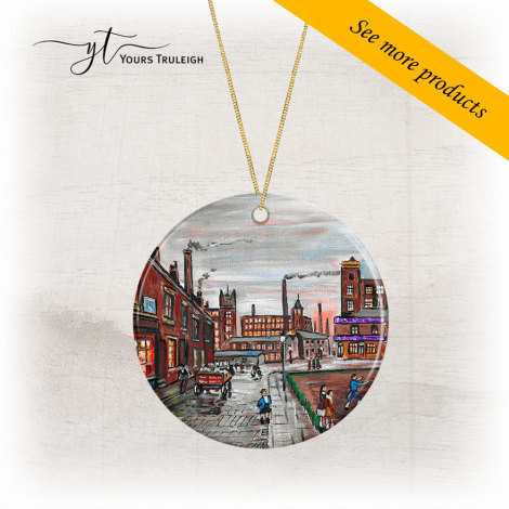 Industrial Manchester - Large Range of Giftware available.