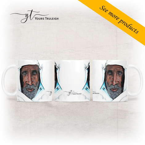 Elderly Moroccan Man - Large Range of Giftware available.