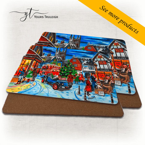 Christmas Scene - Large Range of Giftware available.