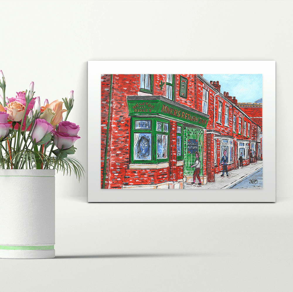 The Rovers Return - A4 Print - Mounted