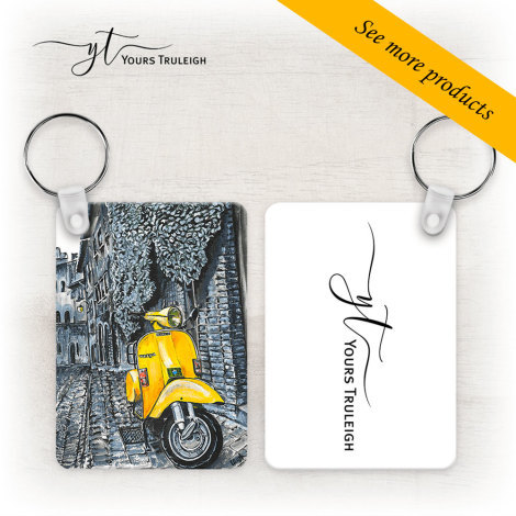 Vespa Large Range of Giftware Available.