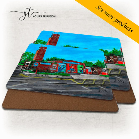 Fire Station - Large Range of Giftware available.