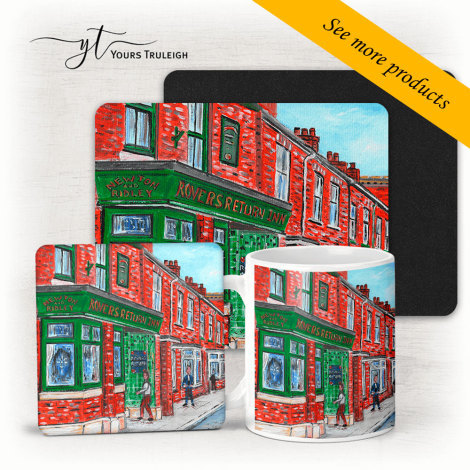 The Rovers Return - Large Range of Giftware available.