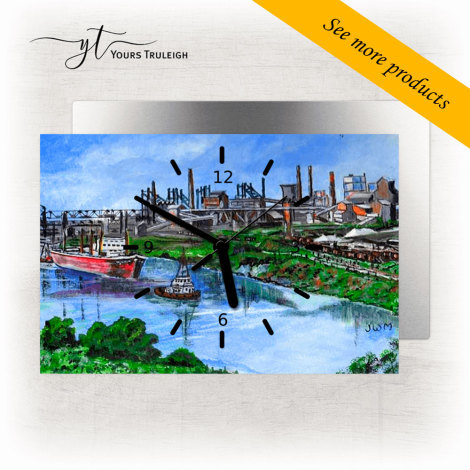 Manchester Ship Canal - Large Range of Giftware available.