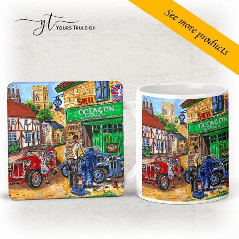 Octagon Garage - Large Range of Giftware available.