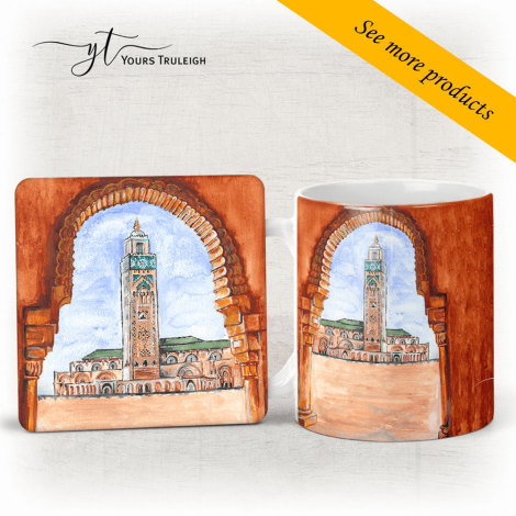 Hassan 2 Mosque - Casablanca - Large Range of Giftware available.