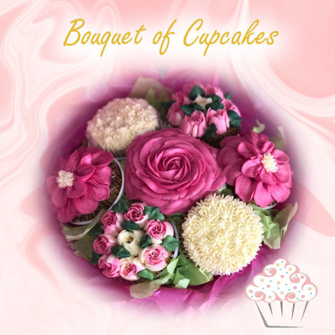 Bouquet of Cupcakes