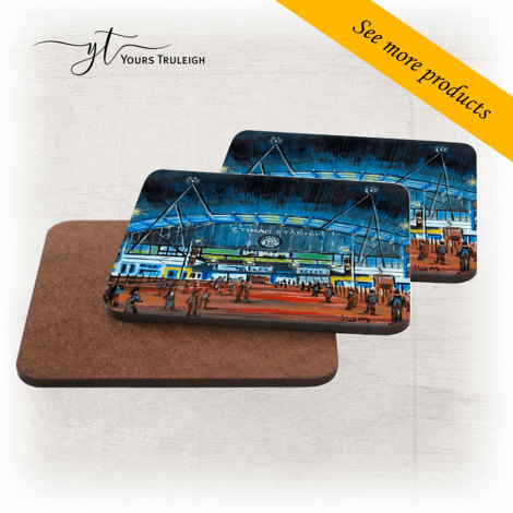 Etihad Stadium Front View - Large Range of Giftware available.