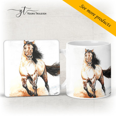 Galloping Horse - Large Range of Giftware available.